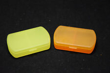 2 Pillenboxen Pillendose Tablettendose Tablettenbox Pillenbox Tagesbox 2 Fächer