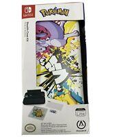 Nintendo Switch Lite Stealth Case Kit Power A Pokemon Pikachu Vs Mewtwo New