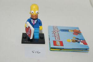 LEGO SIMPSONS SERIES 2 Minifigure - HOMER - #1 71009 - AS NEW (S16) GENUINE