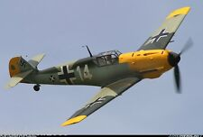 Royal Marutaka Model AIRPLANE Kit BF 109E MESSERSCHMITT -35 inch ws