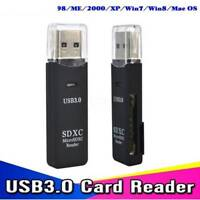 USB 3.0 SD Memory Card Reader SDHC SDXC MMC Micro Mobile T-FLASH SD Card 5Gbps