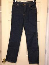 cec85740 Wrangler Modcloth Women's Collaboration Wide Leg Whim Flare Dark wash Jeans  NWOT