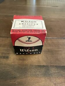 New Vintage Wilson A 1010 Official Baseball in Original Box - Collector Item!