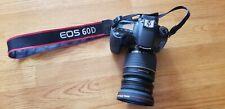 Canon EOS 60D 18.0MP Digital SLR Camera - Black with 430EX speedlite