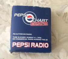 Vintage 1990s Pepsi Radio Fully Working