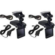 "Lot 2  2.5"" Full HD 1080P Car DVR Vehicle Camera Video Recorder Dash Cam US"