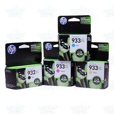 4pk Genuine HP 932XL + 933XL Ink OfficeJet 6100 6600 6700 7110 7612 - Retail Box