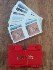 Vintage 1970s - Weetabix Vistascreen & 24 Assorted Picture Cards