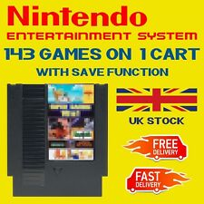 NES Games - 143 in 1. Save Function. PAL/NTSC
