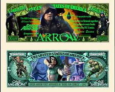 GREEN ARROW BILLET MILLION DOLLAR US! Collection Super Heros Comics BD Serie dc