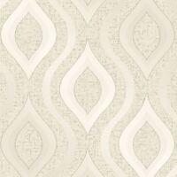 Cuarzo Papel Pintado Geométrico Oro - Fine Decor FD41973 Purpurina Lujo