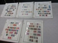 Nystamps France & Napoleon Ceres Head old stamp collection Scott page