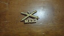 WW1 UNITED STATES ARMY MASSACHUSETTS 1ST ARTILLERY DIV PIN/BREAST BADGE BX 4 #12