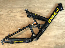 Cannondale Super V 1000 FR Freeride Mountain Bike Frame Made In USA Black 18""