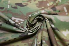"Multicam Camouflage Shirting Duck Nylon Kevlar Fabric 65""W Military Closeout FR"