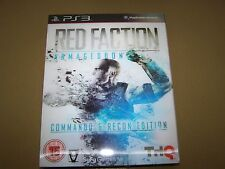 Red Faction: Armageddon (Sony PlayStation 3, 2011) **New & Sealed**