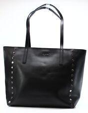 Michael Kors NEW Black Saffiano Rivington Studded Tote Bag Purse $328 #008