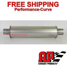 "MSL Premium Muffler / Resonator-  2.25"" - 4"" Round - 21"" Long - by AP Exhaust"