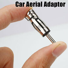 Car Vehicles Radio Stereo ISO To Din Aerial Antenna Mast Adaptor Connector Plug`