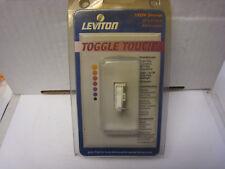 Leviton 603-Tgi10-1La Toggle Touch Almond Dimmer 1000w free shipping