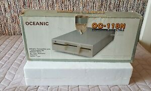 OCEANIC OC-118N Floppy Disk Drive for Commodore 64/128, Plus/4, C16 ExRare!