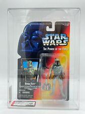 1995 Kenner Star Wars Power Of The Force Full Circle Boba Fett GRADED AFA-U85