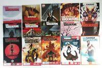 Lot of 15 Marvel Savage Wolverine Comics Volume 1 Full Run #9 9 to #23 23 Fine