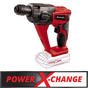 Einhell Akku Bohrhammer TE-HD 18 Li - Solo 1,2J, SDS-Plus 18V Power X-Change