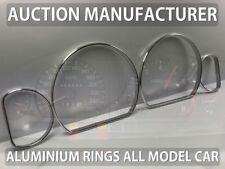 Mitsubishi Galant EA 96-03 Polished Aluminium Dial Surrounds Speedo Rings 4pcs