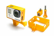 Frame Mount Tripod Mount für GoPro Go Pro HD HERO 3 Black Zubehör Adapter Orange