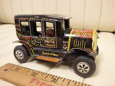 "1950s MARX Line-Mar ""Old Jalopy"" Tin Lithographed Friction Car"