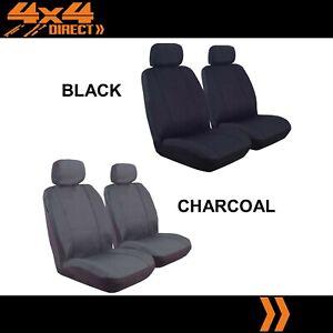 SINGLE ROW CUSTOM 9oz CANVAS SEAT COVERS FOR MAZDA 323 94-96 ASTINA SEDAN