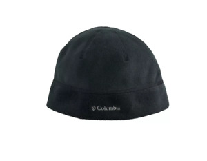 COLUMBIA Mens Mountaindale Black Fleece Hat L/XL NWT
