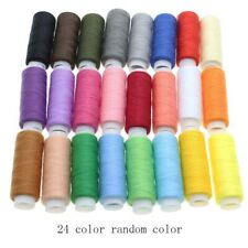 30 SPOOLS 24 Colours Finest Quality Sewing 100% Cotton Thread Reels