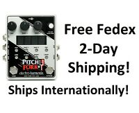 New Electro Harmonix Pitch Fork + Plus Pitch Shifter Guitar Effects Pedal
