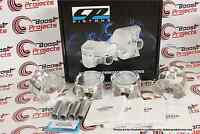 "CP Forged Pistons For Honda Prelude H22A1 H22A4 87mm (3.425"") Bore 9.0 CR SC7030"