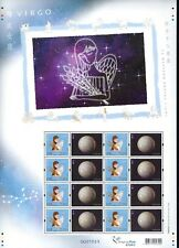 China Hong Kong 2012 Special S/S VIRGO 處女座 Western Zodiac Signs stamp 星座