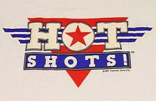 L * Nos w/tag vtg 90s 1991 Hot Shots movie t shirt * 75.122