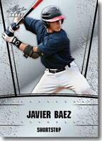 JAVIER BAEZ 2011 LEAF DRAFT SILVER ROOKIE CARD W/H TOP LOADER! CHICAGO CUBS!
