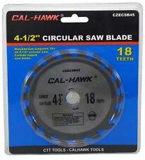 "4 1/2"" Inch Circular Saw Blade 18 Teeth Tungsten Carbide Tipped"