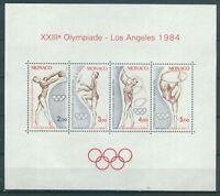 Monaco Block 25 , ** , Olympische Spiele 1984
