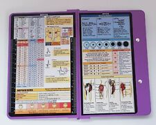CLIPBOARDS NURSING EDITION Foldable CLIPBOARD Purple