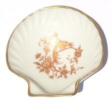 Collector Plates - Limoges France - Hand Painted Shell Shaped Soap /Trinket Dish
