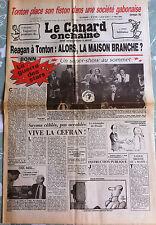 Le Canard Enchainé 1/05/1985; Tonton place son fiston dans une société Gabonaise