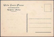 AA4837 Ditta Ennio Picone - Montefredane - Cartolina pubblicitaria - Postcard