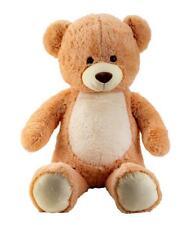 XXL Teddybär Bär 1m groß heller Bauch Hellbraun Kuscheltier Teddy Kuschelbär
