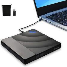USB 3.0 Externes DVD Laufwerk Brenner CD DVD-RW Brenner für PC MAC schwarz DHL