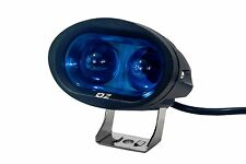 "4"" High Output 10w Oval Blue LED Forklift Light Spot Beam Off road  ATV Truck"