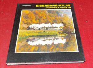 Frank Lüdecke - Eisenbahn - Atlas - Bundesrepublik Deutschland