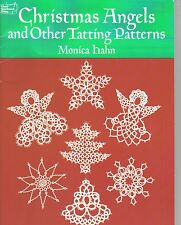 Christmas Angels and Other Tatting Patterns ~ Tatting Book ~ soft cover book